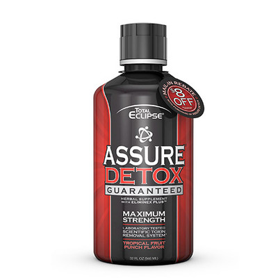 Total Eclipse Assure Detox Maximum Strength TROPICAL 32 fl oz