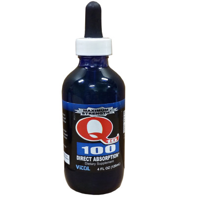 Vitol Maximum Strength Q10 100 Dietary Supplement 4oz