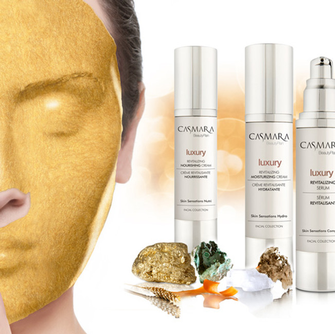 Luxury Revitalizing Casmara Peel-off Gold Mask