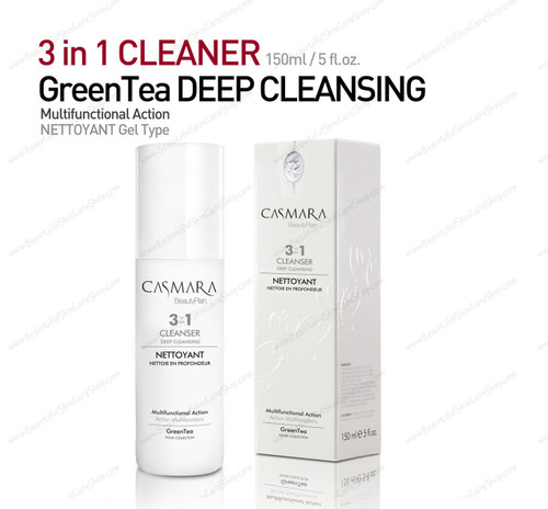 Green Tea 3 in 1 Deep Cleanser 150ml