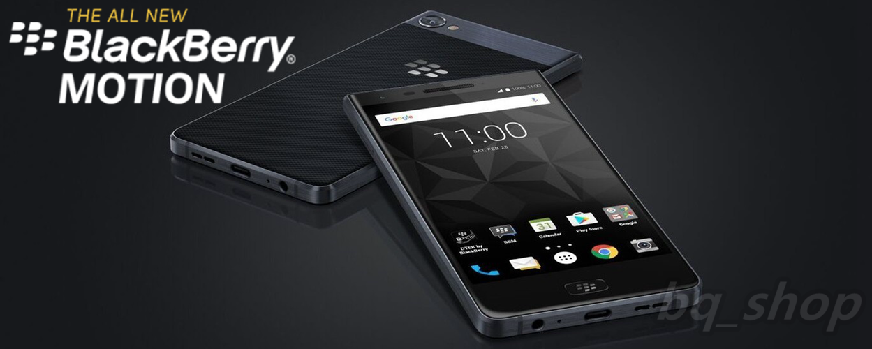 """BlackBerry Motion 32 GB 5.5"""" 4 GB RAM 12MP Octa core IP67 Android Phone OPEN BOX (Unboxing)"""