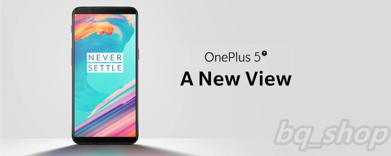 "OnePlus 5T 6.0"" 8GB/128GB Black Dual 20MP Octa Core Phone International Version OPEN BOX(Unboxing)"