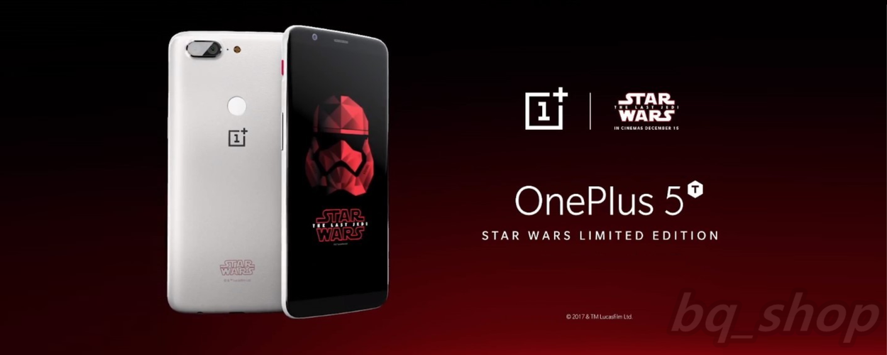 "​OnePlus 5T Star Wars Limited Edition 6"" 8GB/128GB 20MP Octa Core Phone International Version OPEN BOX(Unboxing)"