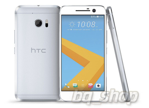 """NEW HTC M10 Silver 5.2"""" 64GB Dual-core 12MP 4 GB RAM Android Phone"""