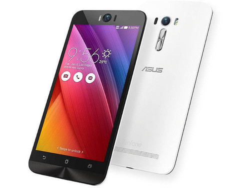 """Asus Zenfone Selfie ZD551KL 32GB LTE 3GB Ram White Android 5.5"""" Phone"""