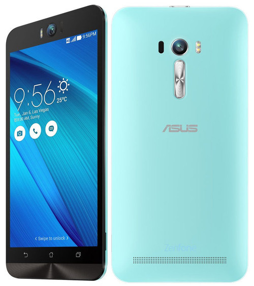 "Asus Zenfone Selfie ZD551KL 32GB LTE 3GB Ram Blue Android 5.5"" Phone"