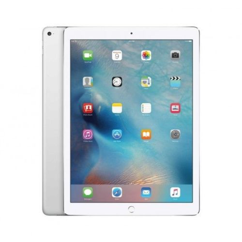 "Apple iPad Pro 128GB 4G LTE Silver iOS 9 4GB RAM 12.9"" 8MP Tablet"