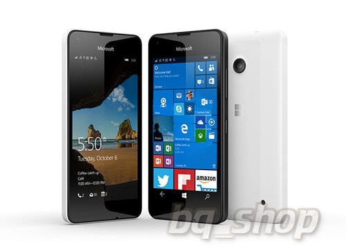 "Microsoft Lumia 550 4G White 4.7"" 8GB HSDPA Windows 10 Phone"