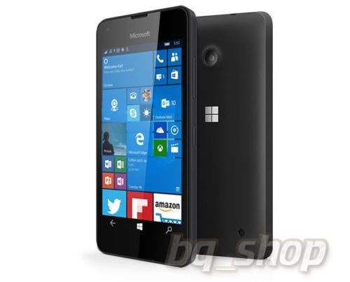 "Microsoft Lumia 550 4G Black 4.7"" 8GB HSDPA Windows 10 Phone"