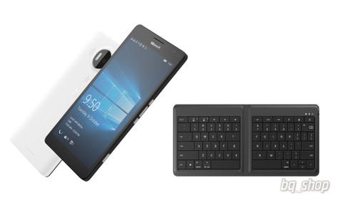 "Microsoft Lumia 950 XL Black With Keyboard 32GB 20MP 5.7"" Window Phone"