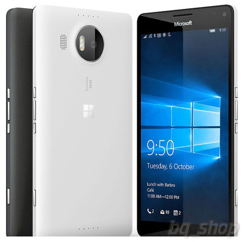 "Microsoft Lumia 950 XL WHITE 32GB 20MP Octa-core 5.7"" Windows 10 Phone"