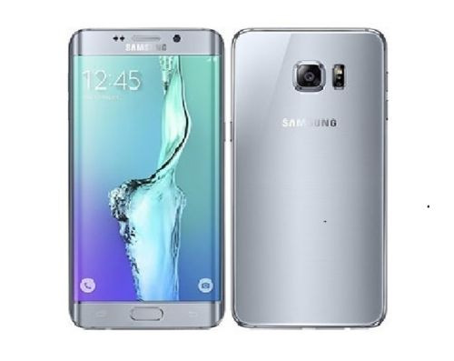 "Samsung Galaxy S6 Edge+ Dual Sim G9287 Silver 32GB 4GB RAM 5.7"" Phone"
