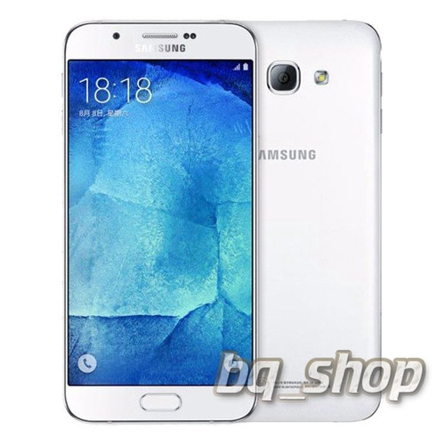 """Samsung Galaxy A8 White A800 5.7"""" 4G DualSim OCTA CORE 16MP Phone"""