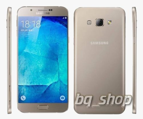 "Samsung Galaxy A8 Gold A800 5.7"" 4G DualSim OCTA CORE 16MP Phone"