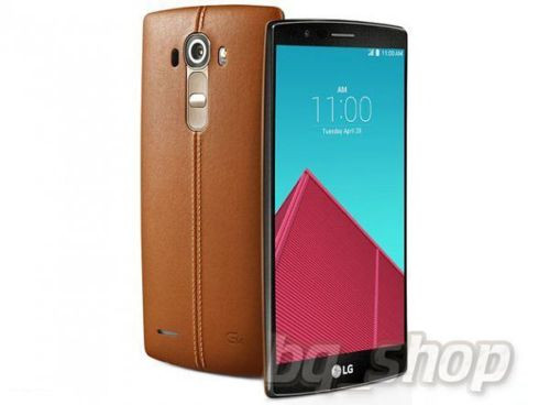 """LG G4 H815 32GB Brown Leather 5.5"""" IPS LCD 3GB 16MP Android Phone"""