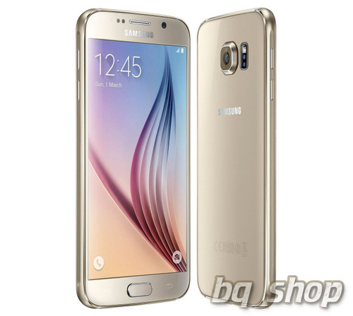 """Samsung Galaxy S6 G920 LTE Gold 32GB 5.1"""" S.AMOLED 16MP Android Phone"""