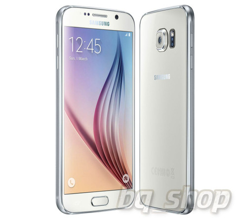 """Samsung Galaxy S6 G920 LTE White 32GB 5.1"""" S.AMOLED 16MP Android Phone"""