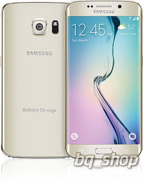 "Samsung Galaxy S6 Edge G925 64GB Gold 5.1"" S.AMOLED 16MPAndroid Phone"