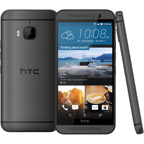 "NEW HTC One M9 PLUS M9+ Gray 5.2"" 32GB Octa-Core 20.7MP Android Phone"