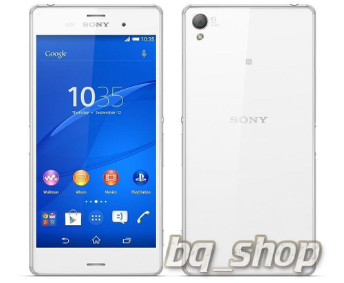 "Sony Xperia Z3 D6653 White 5.2"" 16GB FACTORY UNLOCKED 20.7MP LTE Phone"