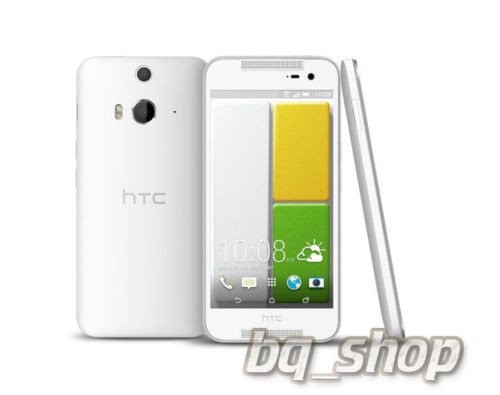"HTC Butterfly 2 White FACTORY UNLOCKED 5"" LCD Dual 13MP Dual LED Phone"