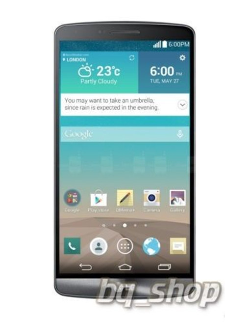 "LG G3 D858 Dual Sim Black 16GB 5.5"" QHD FACTORY UNLOCKED 13MP Phone"