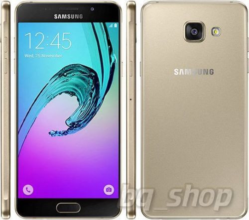 "Samsung Galaxy A5(2016) A510FD 4G Gold 16GB 13MP 5.2"" Android Phone"