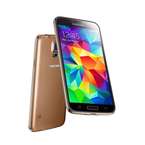 "Samsung Galaxy S5 Mini G800H Gold Quad Core 4.5"" AMOLED Phone"