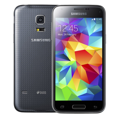 "Samsung Galaxy S5 Mini G800H Black Quadcore 4.5""S.AMOLED 16GB 8MP Phone"