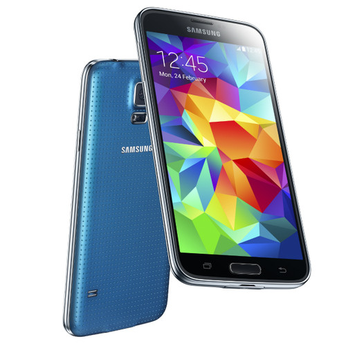"Samsung Galaxy S5 Dual Sim G900fd Blue 5"" Quad Core 16MP Android Phone"
