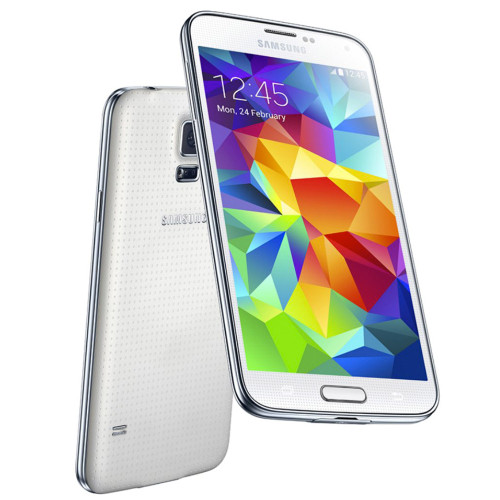 "Samsung Galaxy S5 Dual Sim G900fd White 5"" Quad Core 16MP Android Phone"