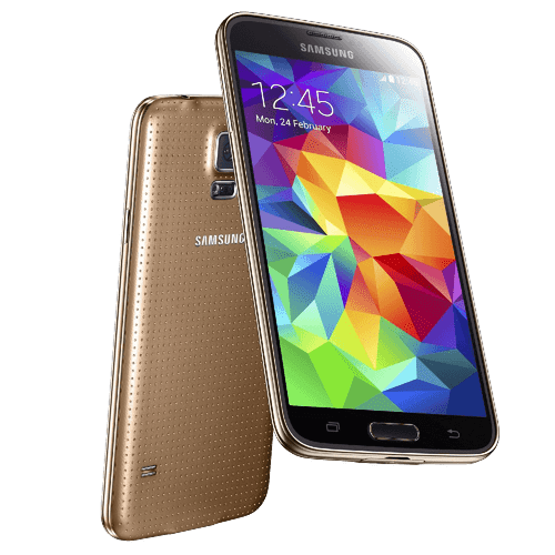 "Samsung Galaxy S5 G900h Gold 5.1"" 16MP Quad-Core IP67 Android Phone"