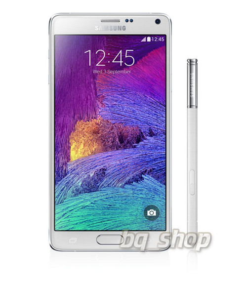 "Samsung Galaxy Note 4 N910G White 32GB OctaCore 3GB Rom 5.7"" 16MP Phone"