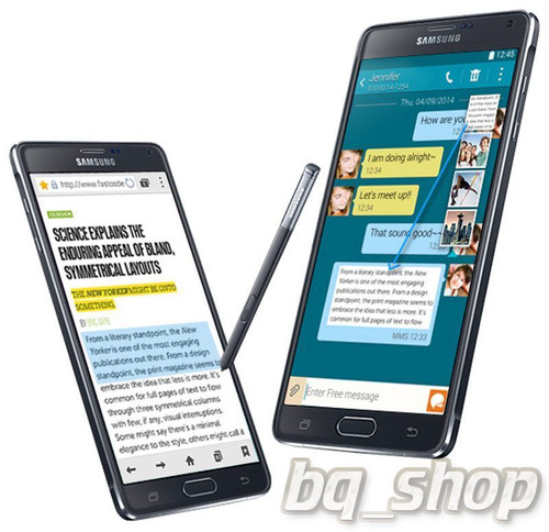 "Samsung Galaxy Note 4 N910G Black 32GB OctaCore 3GB Rom 5.7"" 16MP Phone"