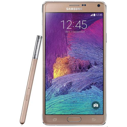 "Samsung Galaxy Note 4 N910C Gold 32GB OctaCore 3GB Rom 5.7"" 16MP Phone"