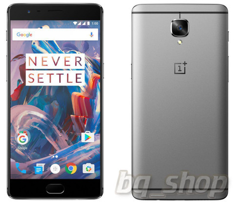 "OnePlus 3 Three Grey 64GB 6GB Ram 5.5"" 16MP Android Phone"