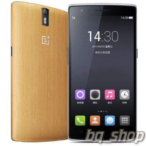 """OnePlus One 64GB Bamboo LTE 5.5"""" QuadCore 2.5GHz 3GB 13MP Android Phone"""