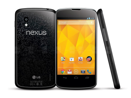 "LG Nexus 4 4.7"" E960 8GB 1.5 GHz 2GB RAM Android 4.2 Black Phone"
