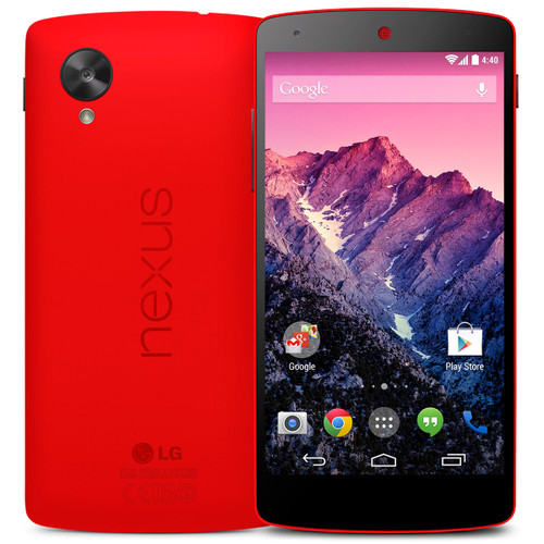 LG Nexus 5 D821 16GB 2GB RAM Quad-core 2.3GHz 8MP Android Red Phone
