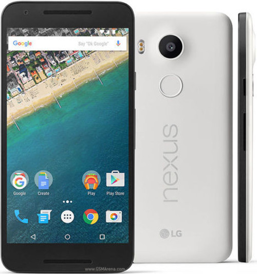 "LG Nexus 5X WHITE 5.2"" LCD 16GB 6-Cores 12.3MP FACTORY UNLOCKED Phone"