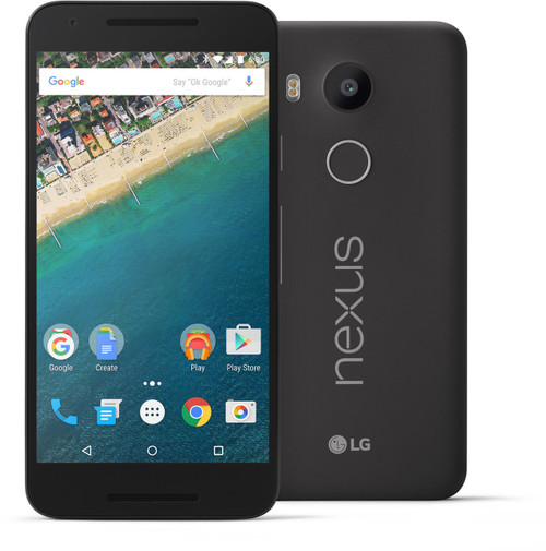 "LG Nexus 5X BLACK 5.2"" LCD 16GB 6-Cores 12.3MP FACTORY UNLOCKED Phone"