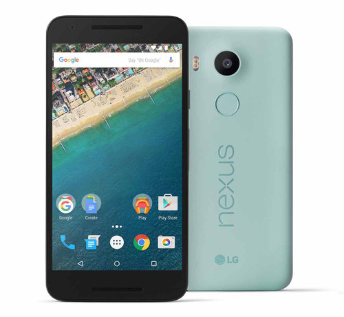 "LG Nexus 5X BLUE 5.2"" LCD 32GB 6-Cores 12.3MP FACTORY UNLOCKED Phone"