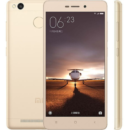 Xiaomi Redmi 3 Pro Gold 13MP 32GB 5.0'' 3GB RAM Android Phone
