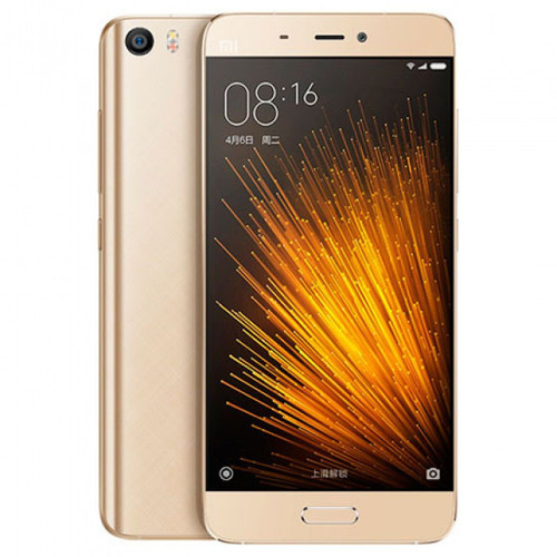 "Xiaomi Mi 5 64GB Gold Dual Sim 3GB RAM 5.15"" 16MP Android Phone"