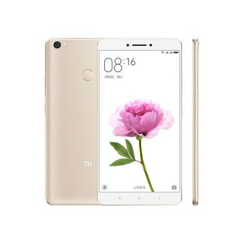 "Xiaomi Mi Max 128GB Gold Dual Sim 4GB RAM 6.44"" 16MP Android Phone"