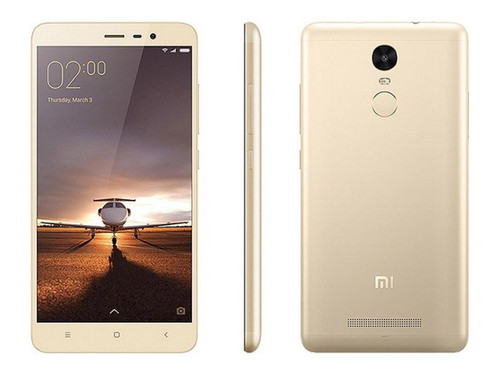 Xiaomi Redmi note 3 Gold 16MP 32GB 5.5'' 3GB RAM Android Phone
