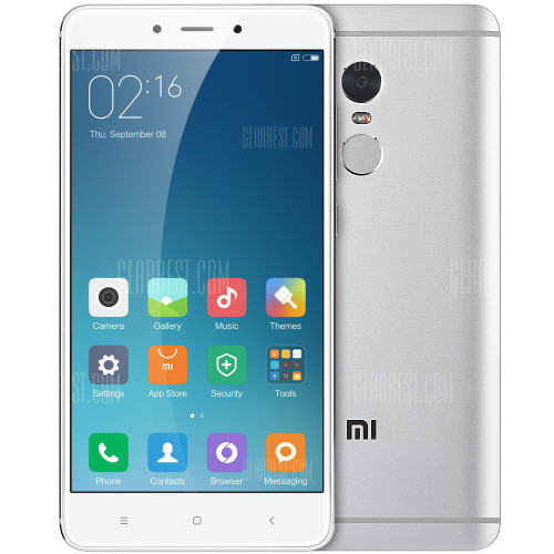 "Xiaomi Redmi Note 4 White 16GB 5.5"" 13MP 2GB RAM Android Phone"