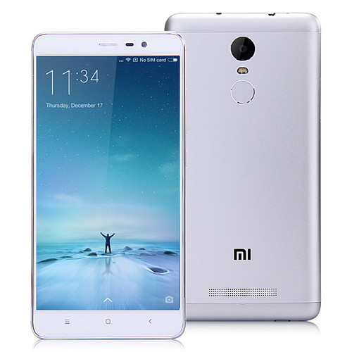 Xiaomi Redmi Note 3 Silver 16MP 16GB 5.5'' 2GB RAM Android Phone