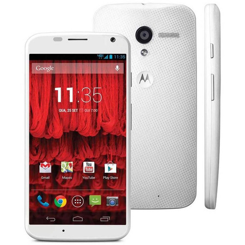 "Motorola MOTO X XT1052 16GB White 4.7"" LCD Dual-core 1.7GHz 10MP Phone"