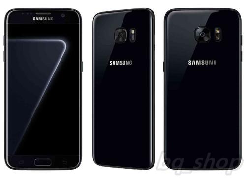 "Samsung Galaxy S7 Edge 4G G9350 Pearl Black 128GB 4GB RAM 5.5"" Phone"